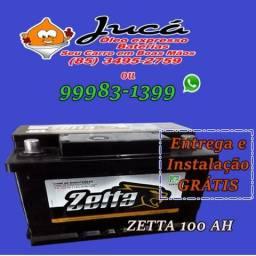 Promoção relâmpago de Bateria Zetta 100 ah