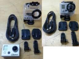 GoPro Hero HD Seminova + Kit All Action Sports