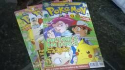 Revistas Pokemon Club N° 2, 4 e 9