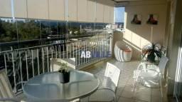Apartamento com 3 dormitórios para alugar, 164 m² por r$ 6.500/mês - alphaville - barueri/