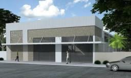 Sala comercial para locação com mezanino com metragem de 580m2 em Toledo-PR