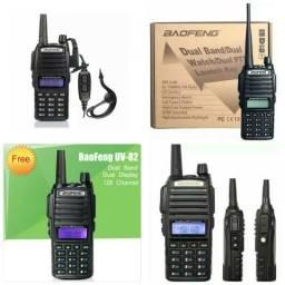 Radio comunicador Walkie talkie uv82 Digital