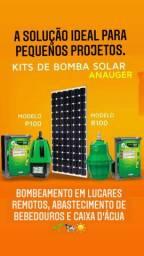Bombeamento solar, Eletrificadores solar, Refletores solar.