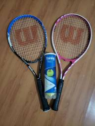 Kit de raquetes de tenis (as duas)