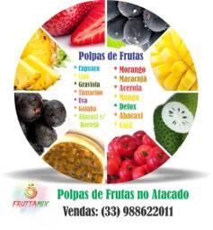 Polpas, Cremes de Frutas e Açaí