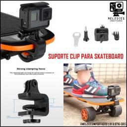 Suporte Clip Para Skate \ Longboard e afins