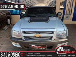 CHEVROLET S10 2.8 RODEIO 4X4 CD 12V TURBO ELECTRONIC INTERCOOLER DIESEL 4P MANUAL