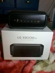 Caixa de Som Bluetooth LG XBOOM Go PK3 Preta<br><br>