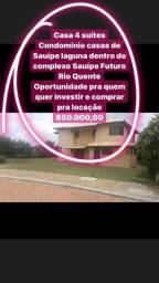 Casa alto padrão em Costa de Sauípe futuro Resort Rio quente