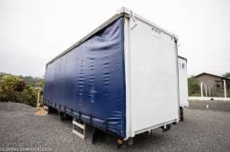 Baú Sider para Truck de 9.10m
