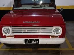 C10 1972 placa preta