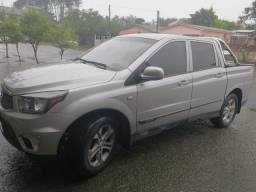Camionete Cabine Dupla 4x4 155CV SsangYong Actyon Sport 2013