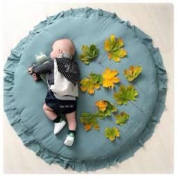Tapete redondo para recém-nascidos