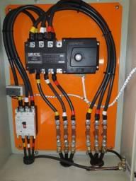 Geradores tratorizados de 10 a 50 kVA - Bifásico - Trifásico