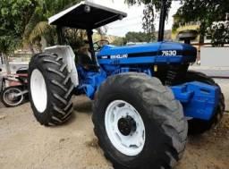 Vendo Trator 4x4 New Holland 7630 parcelo