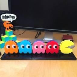 Brinquedo decorativo PacMan 3D