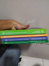 Vendo parte da coleção Gelson Iezzi-2,4,5 e ,10-R$200