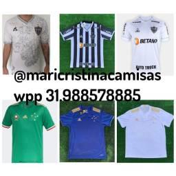 Título do anúncio: Camisas Cruzeiro e Atlético