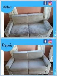 Limpeza de sofá, Tapete e colchão em te 5x