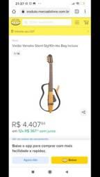 Violão Yamaha silent troco em iPhone