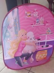 Título do anúncio: Cabaninha Infantil Barbie