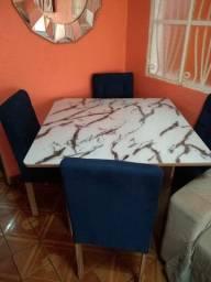 Mesa 4 Cadeiras de Luxo Nova Zerada Valor R$ 1.500