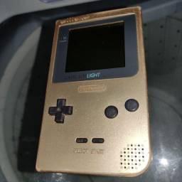 Título do anúncio: Nintendo Gameboy light gold
