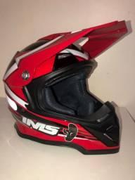 Vendo capacete motocross IMS