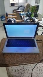 Título do anúncio: Notebook HP g42 core i3 4 gb de memória e hd de 500