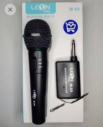Título do anúncio: Microfone sem fio leon - (Faço Entrega)