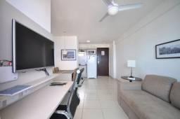 Flat  grande mobiliado no Beach Class com excelente localização em Boa Viagem