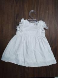 Vestido infantil feminino 3 a 6 meses