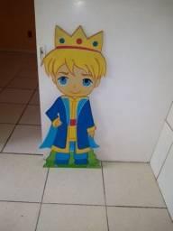 Placa decorativa do pequeno príncipe