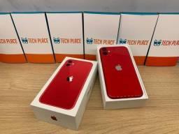 Título do anúncio: Apple iPhone 11 64gb Vermelho|| Seminovo ||Loja Física na Savassi