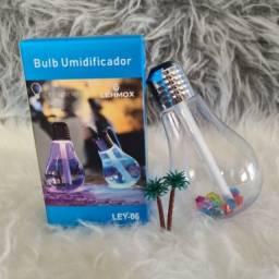 Título do anúncio: Lampada Umidificador Climatizador Aromatizador De Ar Luz Led-Entrega Grátis