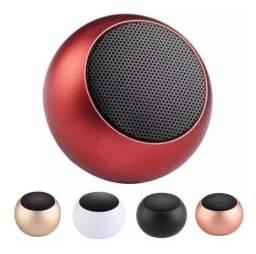 Título do anúncio: Caixinha Som Bluetooth Mini Metal Speaker Amplificada 3w - Mini speaker