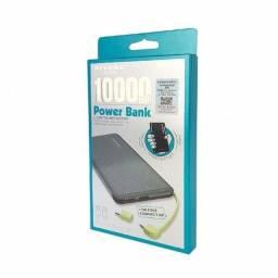 Título do anúncio: Carregador Portátil Bateria Power Bank Pineng 10.000mah Universal PN951
