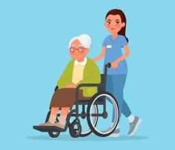 Vaga para cuidadora de idosos