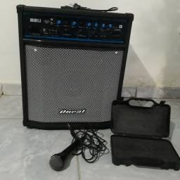 Microfone mais som R$1200