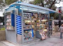 Título do anúncio: banca de jornal, melhor de santos, garte lucro no bolso R$10mil/mes sinal só r$ 150mil