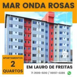 Título do anúncio: Apartamento localizado em Lauro de Freitas, 2 quartos em 53m²