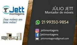 Título do anúncio: Montador de móveis, profissional disponível