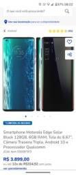 Título do anúncio: Motorola Edge 64 GB novo com nota fiscal