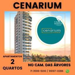 Título do anúncio: Apartamento 2 quartos em 72m² - Cenarium Residencial