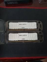 Título do anúncio: Kit Memórias Crucial Ballístix 2x8 16GB DDR4 3000Mhz