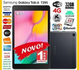 "Título do anúncio: Galaxy Tab A T295 Quad Core, 32GB, Tela de 8.0"", 4G+Wi-Fi, GPS, Novo, Cx, NF, Garantia"