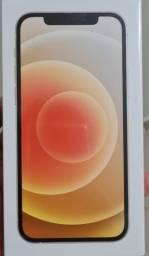 iPhone 12 Branco 256GB novo lacrado, com nota fiscal