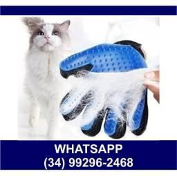 Título do anúncio: Luva Tira Pelos Gato e Cachorro