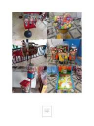 Título do anúncio: Negócio de máquinas de bolinhas em operação