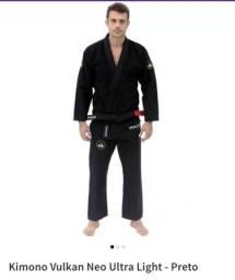 Título do anúncio: Kimono A4 vulkan neo ultra light preto